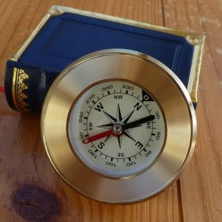 Victorian Pirate Compass Nautical Marine Gift Box Paper Weight