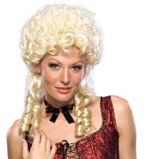 Blonde Blond Marie Antoinette Colonial Wig Costume