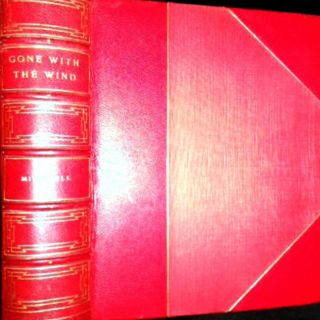 1936 GONE WITH THE WIND MARGARET MITCHELL 1ST EDITION FINE LTHR SOUTH