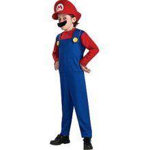 New Super Mario Mario Halloween Boy Costume Small 6