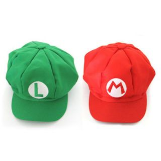 Super Mario Bros Cap Anime Cosplay Super Mario M Super Mario L Hat 2