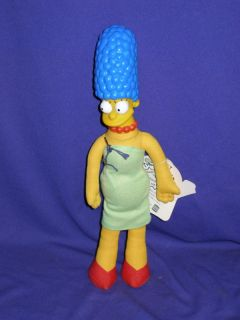 Marge Simpson Cloth Vinyl Doll 12 Burger King 1990