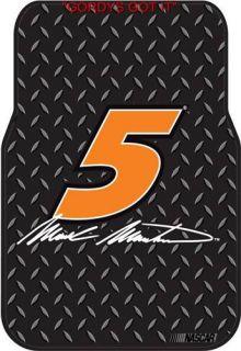 Mark Martin Car Seat Covers Floor Mats NASCAR Set