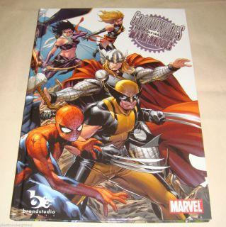 SDCC 2012 Mark Brooks Hardcover Art Book Marvel Groundworks Sketchbook