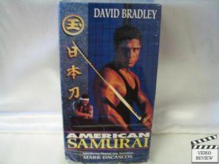 American Samurai VHS David Bradley Mark Dacascos