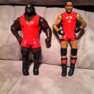 Mattel WWE Supreme Teams Mark Henry MVP