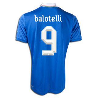 Puma Italy Mario Balotelli Home Jersey Euro 2012 Italia Calcio