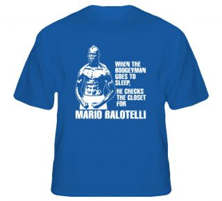 Mario Balotelli Boogeyman Italy Soccer T Shirt