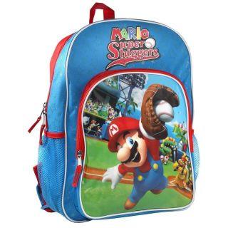 Official Nintendo Super Mario Bros Wii Mario Super Slugger 16 School
