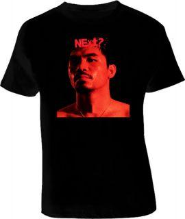 Manny Pacman Pacquiao Next Boxing T Shirt Black