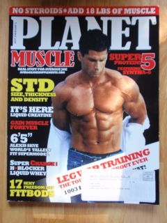 Planet Muscle Bodybuilding Fitness Magazine Scott Markey 8 06