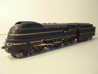 Vintage Marklin Train Set SK800 Engine 4 Passenger Cars Track Boxes