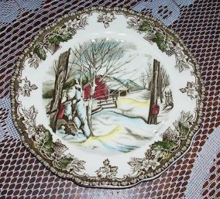Johnson Brothers Friendly Village Sugar Maples Plate