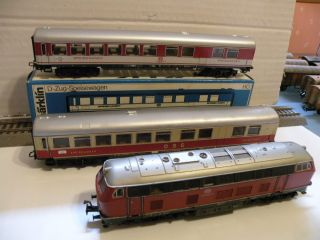 Marklin Diesel Train Set Scale HO
