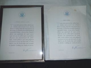 Two President Harry Truman Signed Letters