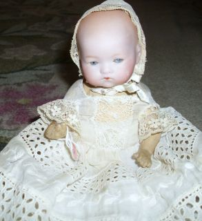 Dream Baby 8 Baby Antique Armand Marseilles Doll Bisque Bent Leg Body