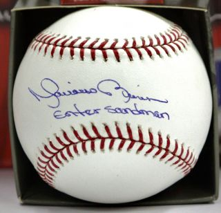Mariano Rivera Autographed OML Baseball Authenticated by PSA DNA w