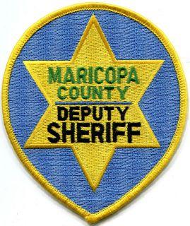 Maricopa County Arizona Deputy Sheriff Patch