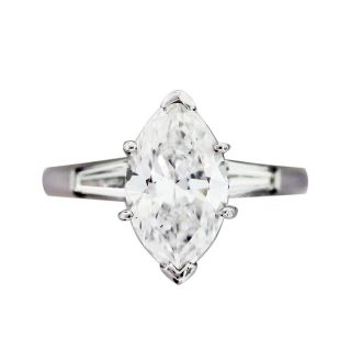 Carat Marquise Cut Diamond Engagement Ring