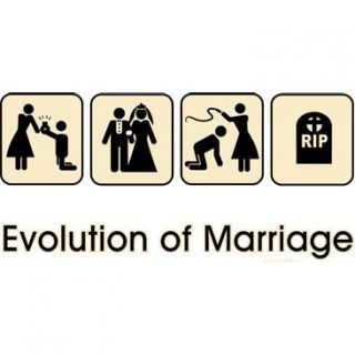 Shirt Evolution Of Marriage Tee Ring Marriage Whipped Rip Xl Navy Blue