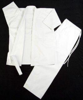 Martial Arts Karate Taekwondo Juno Uniform Size 3 White