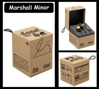 Marshall Minor Audio in Ear Stereo Headphones