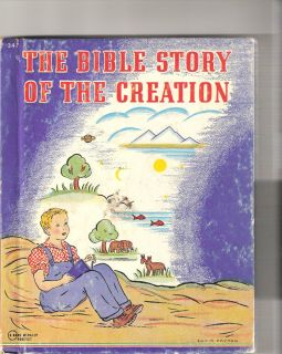 Childrens Book   The Bible Story of the Creation by Mary Alice Jones
