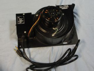 Martin Industries Model s 14 Pellet Stove Electric Heater Blower Motor