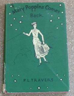 Mary Poppins Comes Back P L Travers Vintage 1935