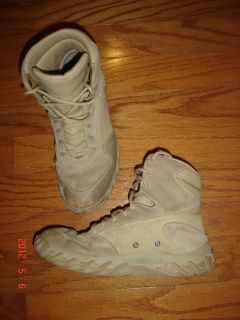 OAKLEY ELITE TACTICAL WORK BOOTS MENS 11 SUEDE LEATHER DESERT SPECIAL