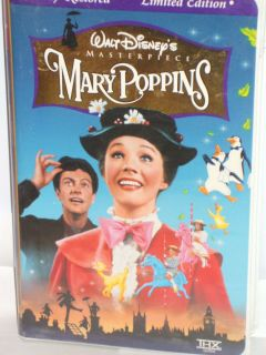 Mary Poppins VHS 1997 Clam Shell Special Edition