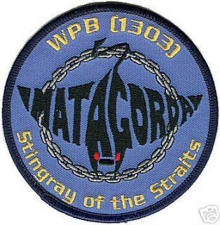 USCGC Matagorda Stingray WPB 1303 Coast Guard Patch