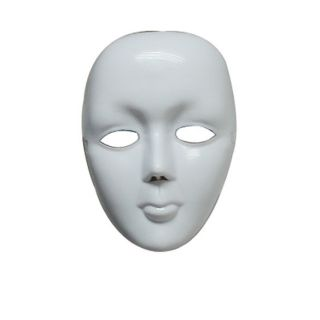 Halloween Masquerade DIY Mime Mask Ball Party Costume Masks