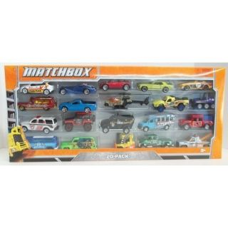 Matchbox 20 Pack Die Cast Parts Helicopter Mazda Car Forklift Tow