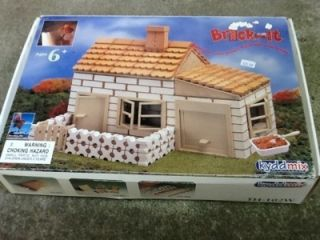 BRICK Laying Building Kit * Masonry Construction Toy Game Set * trowel