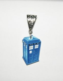 New Dr Who Tardis Pendant Necklace Charm Matt Smith BBC Dalek