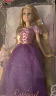 Disney Barbie Doll Rapunzel Barbie Doll with Long Hair New in Box 12