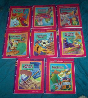 6th Grade Connected Math Student Books for 8 Topics Homeschooling