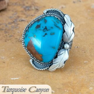 Native American Turquoises Ring Size 9 by Martha Willeto SKU 224380