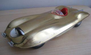Mattel Toys Bonneville Salt Flats Mobil Friction Race Car