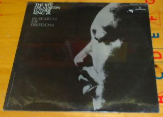 In Search of Freedom The Rev Dr Martin Luther King Mercury Label