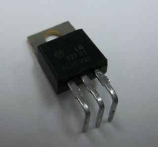 LM337BT 1 5 A Adjustable Output Negative Voltage Regulator IC