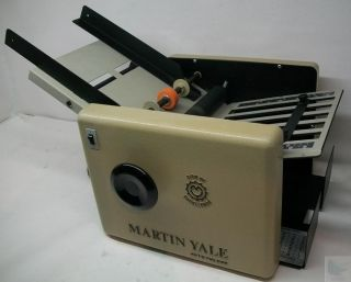 Martin Yale CV 7 Auto Folder Automatic Paper Folding Machine