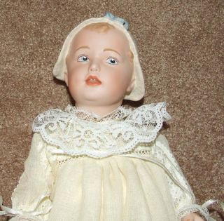 Jeannie Di Mauro 12 Mary Louise Antique Reproduction Heubach