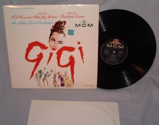 LP SOUNDTRACK Gigi MAURICE CHEVALIER GERMAN IMPORT STEREO 665005 NEAR