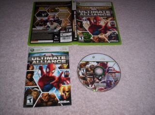 Marvel Ultimate Alliance Gold Special Edition Xbox x Box 360 Xbox360