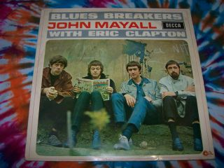 John Mayall Blues Breakers with Eric Clapton Decca German Press