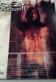 Ozzy Osbourne Comic Todd McFarlane 1999 Sabbath RARE