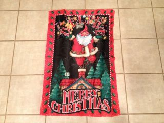 Mary Engelbreit Garden Flag Merry Christmas Limited Edition W