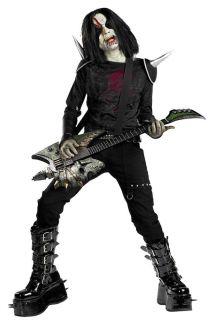 Metal Mayhem Zombie Rock Star Marilyn Manson Halloween Child Costume